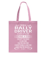 Rally Driver Tote Bag thumbnail