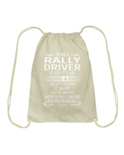 Rally Driver Drawstring Bag thumbnail