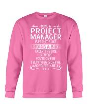 Project Manager Crewneck Sweatshirt thumbnail