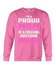 Iron Worker Apprentice - Proud MOM Job Title Crewneck Sweatshirt thumbnail