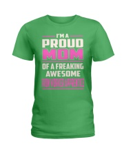 Iron Worker Apprentice - Proud MOM Job Title Ladies T-Shirt thumbnail
