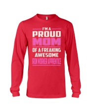 Iron Worker Apprentice - Proud MOM Job Title Long Sleeve Tee thumbnail