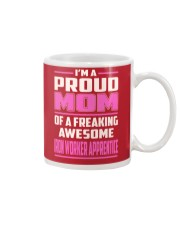 Iron Worker Apprentice - Proud MOM Job Title Mug thumbnail