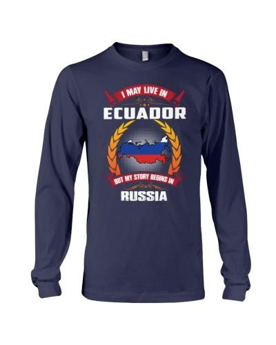 ECUADOR-RUSSIA-STORY-BEGINS