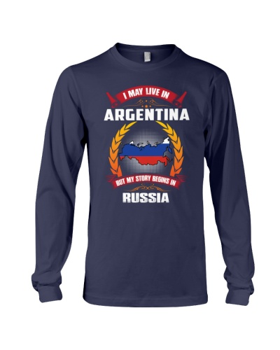 ARGENTINA-RUSSIA-STORY-BEGINS