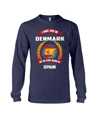 DENMARK-SPAIN-STORY-BEGINS