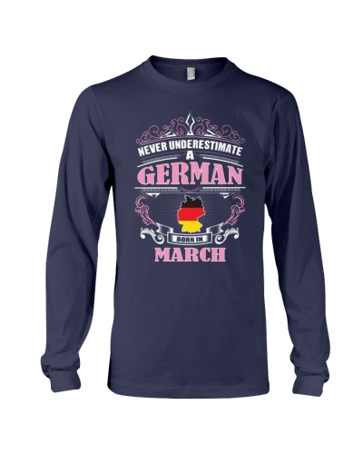 GERMAN-AND-BORN-IN-MARCH