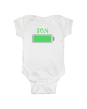 Mommy And Son Battery Charger Onesie tile
