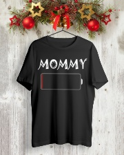 Mommy And Son Battery Charger Classic T-Shirt lifestyle-holiday-crewneck-front-2