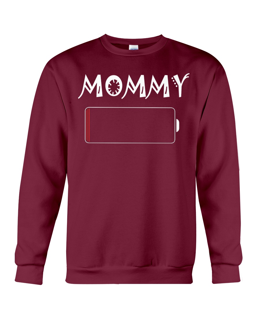 Mommy And Son Battery Charger Crewneck Sweatshirt