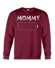 Mommy And Son Battery Charger Crewneck Sweatshirt thumbnail