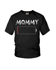 Mommy And Son Battery Charger Youth T-Shirt tile