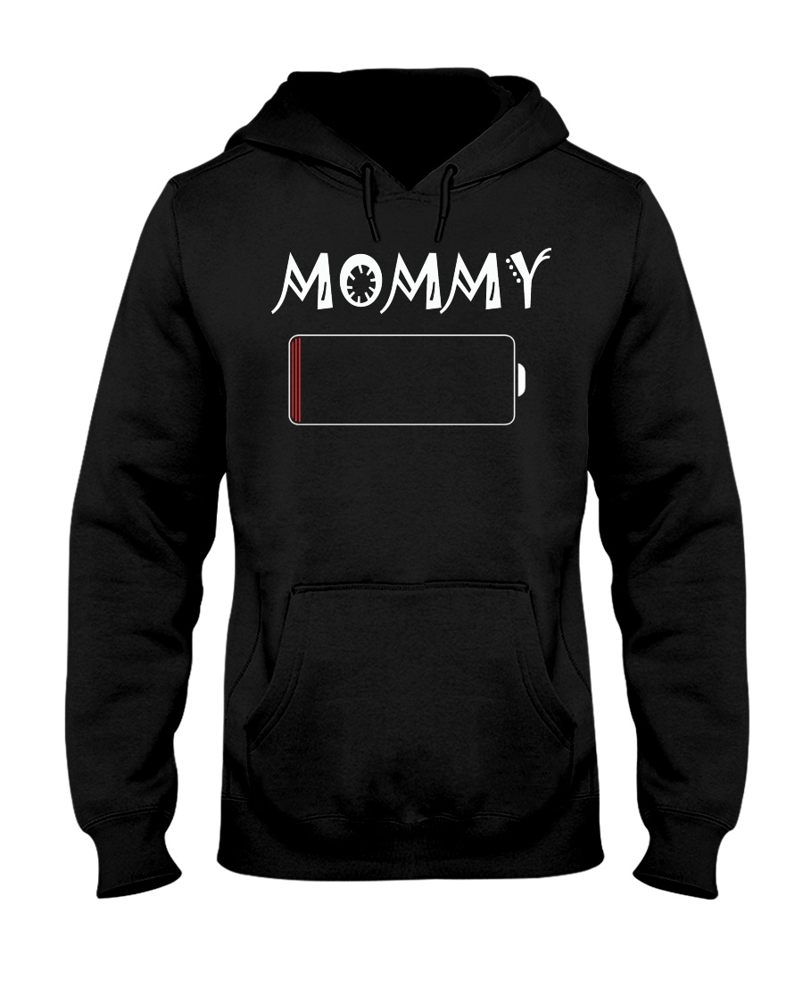 Mommy And Son Battery Charger Hooded Sweatshirt