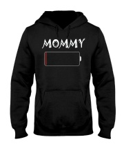 Mommy And Son Battery Charger Hooded Sweatshirt tile