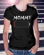 Mommy And Son Battery Charger Ladies T-Shirt lifestyle-women-crewneck-front-7