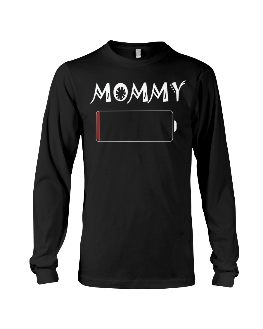 Mommy And Son Battery Charger Long Sleeve Tee