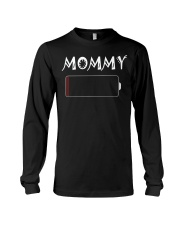 Mommy And Son Battery Charger Long Sleeve Tee thumbnail