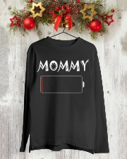 Mommy And Son Battery Charger Long Sleeve Tee lifestyle-holiday-longsleeves-front-2