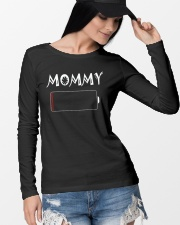 Mommy And Son Battery Charger Long Sleeve Tee lifestyle-unisex-longsleeve-front-4