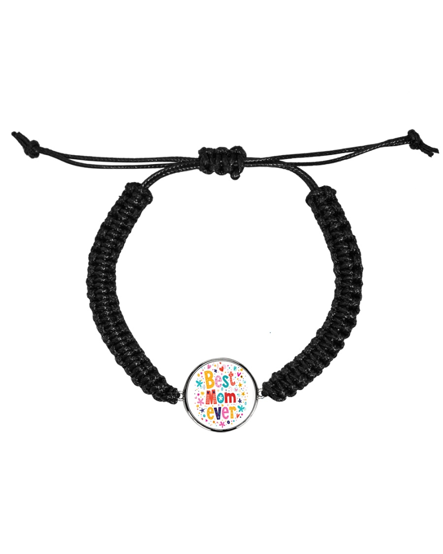 Mommy And Son Battery Charger Cord Circle Bracelet