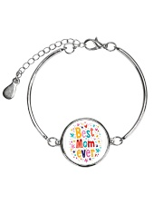 Mommy And Son Battery Charger Metallic Circle Bracelet front
