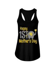 first Mother's Day Elephant 2018 Ladies Flowy Tank front