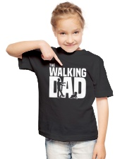 THE WALKING DAD Youth T-Shirt lifestyle-youth-tshirt-front-2