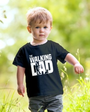THE WALKING DAD Youth T-Shirt lifestyle-youth-tshirt-front-5