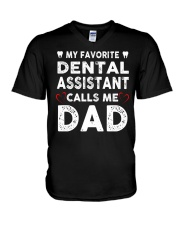 GIFTS FOR DENTAL ASSISTANT'S DADS V-Neck T-Shirt thumbnail