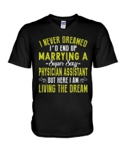 FOR PHYSICIAN ASSISTANT'S HUSBAND V-Neck T-Shirt thumbnail