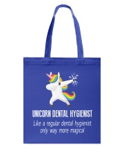 Unicorn Dental Hygienist Tote Bag tile