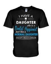 A PERFECT GIFT FOR DENTAL HYGIENIST'S DADS V-Neck T-Shirt thumbnail