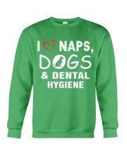 I Love Naps - Dogs - Dental Hygiene Crewneck Sweatshirt thumbnail
