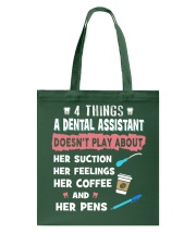 Just for Dental Assistants Tote Bag thumbnail