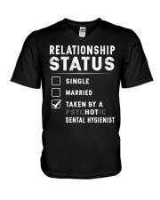 Just for Dental Hygienist's Lover V-Neck T-Shirt thumbnail