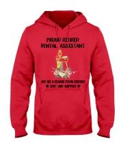Proud Retired DENTAL ASSISTANT Hooded Sweatshirt thumbnail