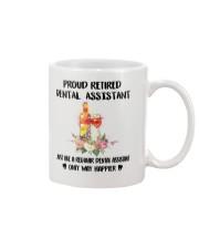 Proud Retired DENTAL ASSISTANT Mug thumbnail