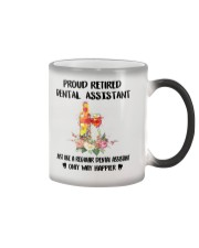 Proud Retired DENTAL ASSISTANT Color Changing Mug thumbnail