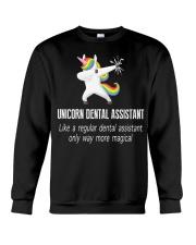 Unicorn Dental Assistants Crewneck Sweatshirt thumbnail