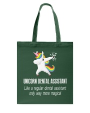 Unicorn Dental Assistants Tote Bag thumbnail