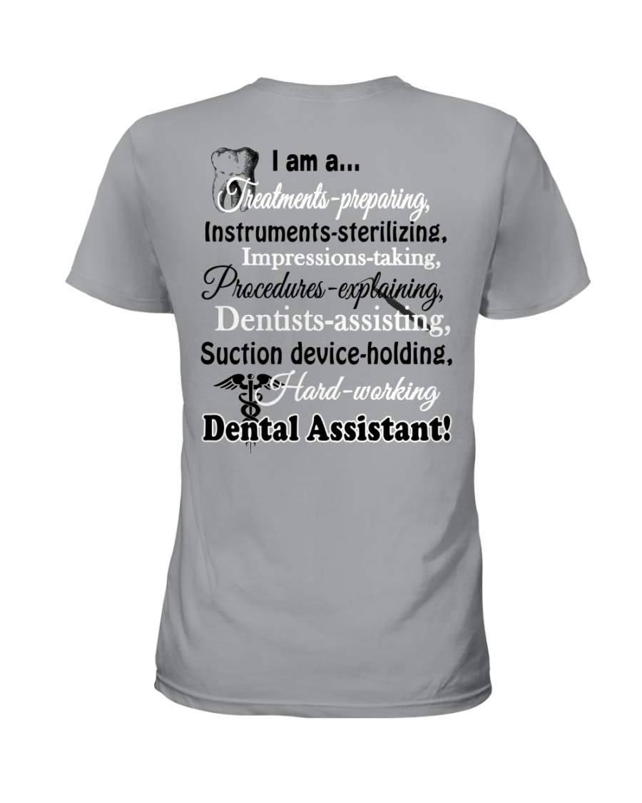 LIMITED EDITION - JUST FOR DENTAL ASSISTANT Ladies T-Shirt