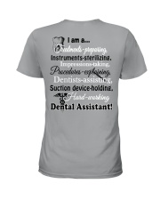 LIMITED EDITION - JUST FOR DENTAL ASSISTANT Ladies T-Shirt back