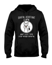 DENTAL ASSISTANT LLAMA Hooded Sweatshirt thumbnail