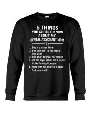 Dental Assitant Mom Crewneck Sweatshirt thumbnail