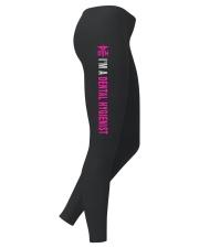 LIMITED EDITION-LEGGING FOR DENTAL HYGIENIST Ladies Leggings right
