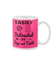 Easily Distracted By Dogs And Teeth Mug thumbnail