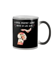 DENTAL HYGIENISTS Color Changing Mug thumbnail