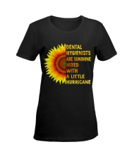 Just For DENTAL HYGIENISTS Ladies T-Shirt women-premium-crewneck-shirt-front