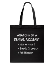 ANATOMY OF A DENTAL ASSISTANT Tote Bag thumbnail