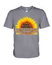 Just for Dental Hygienists V-Neck T-Shirt thumbnail